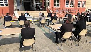 """Kırklareli'nde """"Vefa Sosyal Destek Grubu"""" toplantısı açık havada yapıldı"""
