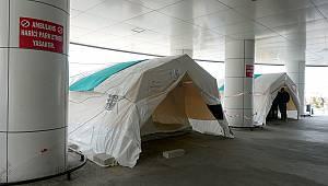 Koronavirüs Tespitinde İlk Değerlendirme AFAD Çadırlarında Yapılacak
