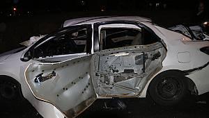 LPG'li Otomobil Bomba Gibi Patladı, 2 Yaralı