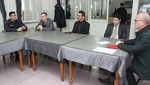 Manyas'ta Koronavirüs Önlemleri Toplantısı Yapıldı