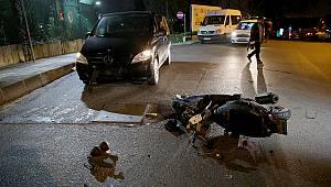 Sarıyer'de Trafik Kazası: 1 Yaralı