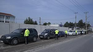 Sürücüler Şehirden Ayrılmamaları Konusunda Uyarıldı