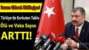 Türkiye'de Korkutan Tablo Ölü ve Vaka Sayısı Giderek Artıyor!