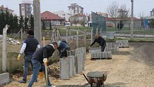 Ulaş Mahallesinde Kilit Parke Taş Döşeme Çalışmalarına Başlandı