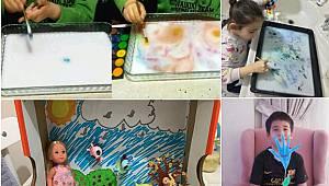 """""""Evde Sanat Var"""" Projesiyle Öğrencilere Uzaktan Sanat Eğitimi Verilecek"""