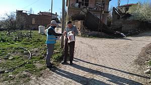 Osmaneli'nde 180 Emeklinin Maaşı Evinde Teslim Edildi