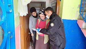 Polisten Yardım İsteyen 3780 Kişiye İhtiyaçları Ulaştırıldı