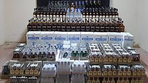 2 Bin Şişe Kaçak İçki Ele Geçirildi