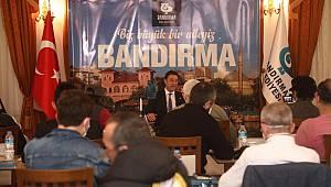 Bandırma Belediye Başkanı Tosun, Kovid-19 Sürecinde Yapılan Çalışmaları Anlattı