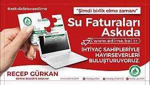 Edirne'de Askıda Fatura Uygulaması Başladı