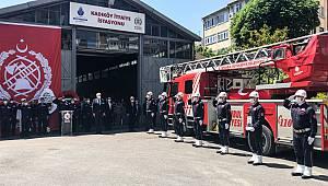 Kadıköy'de Şehit Olan İtfaiye Erleri İçin Tören Düzenlendi