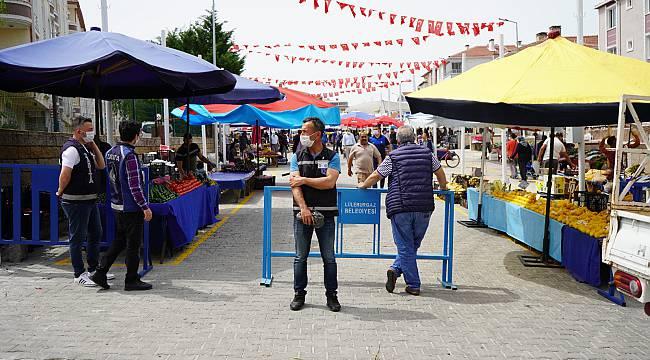 Lüleburgaz'da Yeni Semt Pazarı Hizmete Açıldı