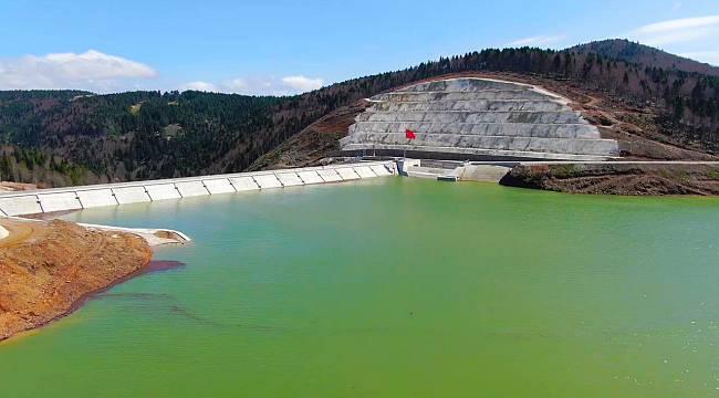 Sapanca Gölü ve Akçay Barajı'nda Su Seviyesi Maksimum Düzeye Ulaştı