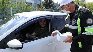 Trafik Haftası Kapsamında Sürücüler Bilgilendirildi