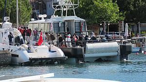 Yunan Sahil Güvenliğinin Türk Kara Sularına İttiği Sığınmacılar Kurtarıldı