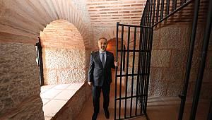 Bursa'daki Zindan Kapı Restorasyonunda Sona Doğru