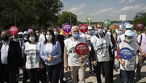 Edirne'de HDP'li Heyete İzin Verilmedi