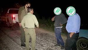 Kaçak Avlanan 1 Kişi Yakalandı