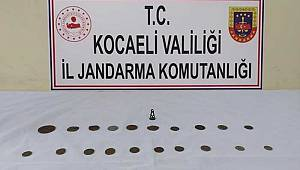 Kocaeli'de 35 Parça Tarihi Eser Ele Geçirildi