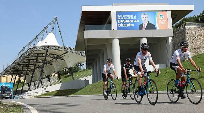 Sakarya Büyükşehir Belediyesi Bisiklet Takımı Sezon Hazırlıklarını Sürdürüyor