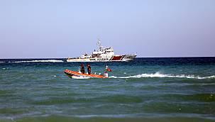 Denizde Kaybolan Kişi Aranıyor