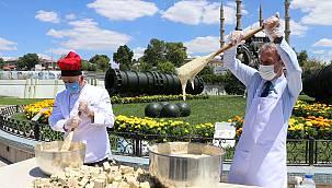 Edirne Esnafı Ayasofya'da 1,5 Ton Helva Dağıtmak İstiyor