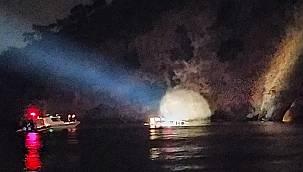 Heybeliada'da Batan Teknedeki 27 Kişi Kurtarıldı