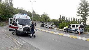 Kocaeli'de Otomobil Takla Attı, 1 Yaralı