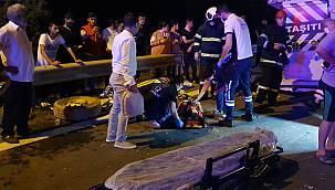 Kocaeli'de Tır Minibüse Çarptı: 9 Yaralı