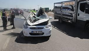 Kopan Tekerlek Dehşet Saçtı, 1 Ölü 5 Yaralı