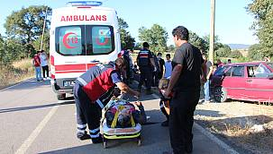 Bilecik'te Cenaze Dönüşü Kaza Yapan Araçtaki 5 Kişi Yaralandı