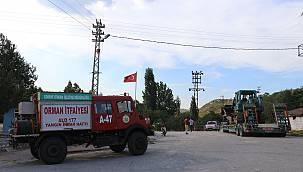 Bulgaristan'daki Yangın Tehdidiyle İlgili Edirne'de Kriz Masası Oluşturdu