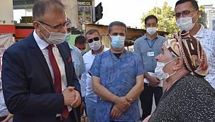 Çorlu'da Koronavirüs Tedbirleri Denetlendi