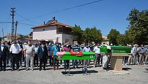 Çorum'daki Yangında Ölen İki Kardeşin Cenazesi Balıkesir'de Defnedildi