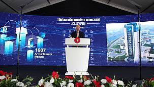 Cumhurbaşkanı Erdoğan, TÜBİTAK Mükemmeliyet Merkezleri Açılış Töreni'ne katıldı