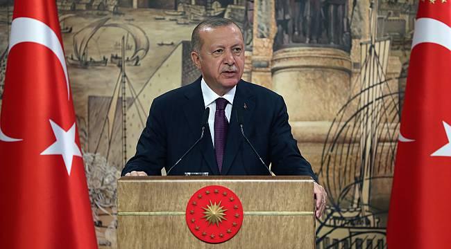 """Cumhurbaşkanı Erdoğan, """"Türkiye, Tarihinin En Büyük Doğal Gaz Keşfini Karadeniz'de Gerçekleştirdi"""""""
