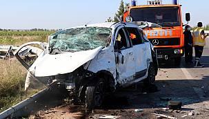 Fabrika İşçileri İşe Giderken Kaza Yaptı, 2 Ölü, 2 Yaralı