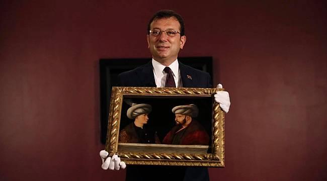 Fatih Sultan Mehmet'in Portresi İçin İBB'de Tanıtım Toplantısı Düzenlendi