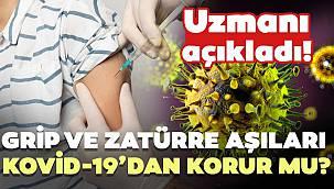 Grip ve Zatürre Aşıları Kovid-19'dan Korur Mu? İşte Cevabı...