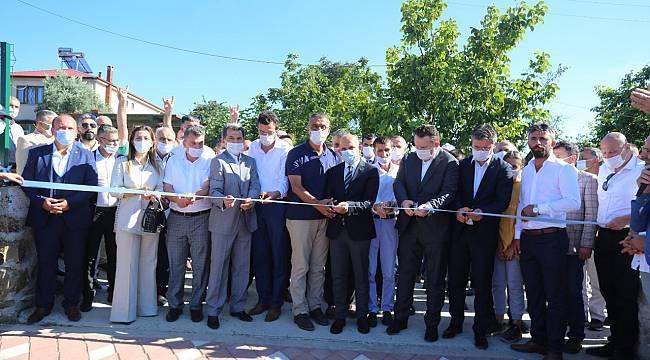 Kocaali'de Başbuğ Alparslan Türkeş Parkı Açıldı