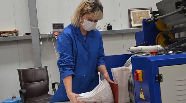 KOSGEB Desteğiyle Ürettiği Bio Kese Kağıdını Avrupa'ya İhraç Ediyor