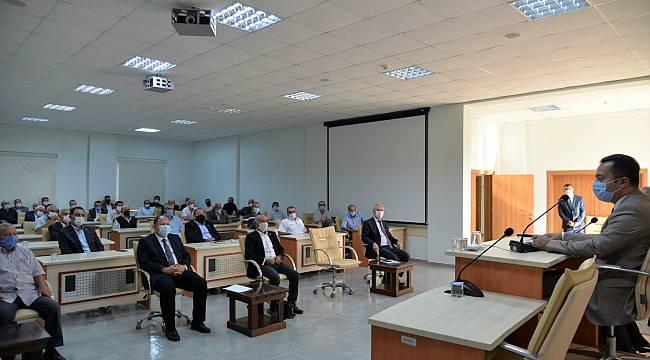 Bilecik'te Kovid-19 Salgınıyla Mücadele Toplantısı
