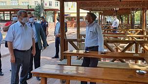 Bursa'da Kovid-19 Tedbirlerine Uyamayan İki Kahvehane Sahibine Para Cezası