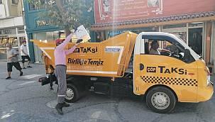 """""""Çöp Taksi"""" Uygulaması Vatandaşlardan Tam Not Aldı"""