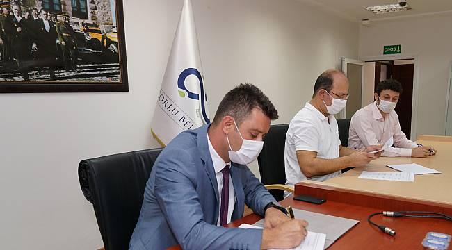 Çorlu Belediyesi ve Belediye-İş Sendikası Arasında Toplu İş Sözleşmesi İmzalandı