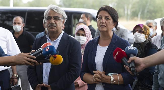 HDP Eş Genel Başkanları Buldan ve Sancar, Demirtaş ve Zeydan İle Görüştü