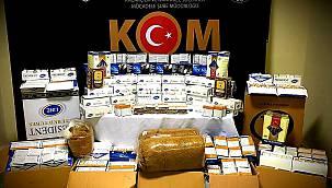 Kırklareli'nde Kaçak Tütün Operasyonu