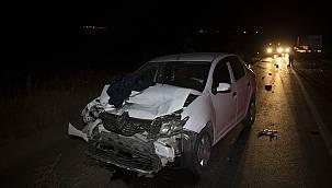 Otomobiller Çarpıştı, 3 Yaralı