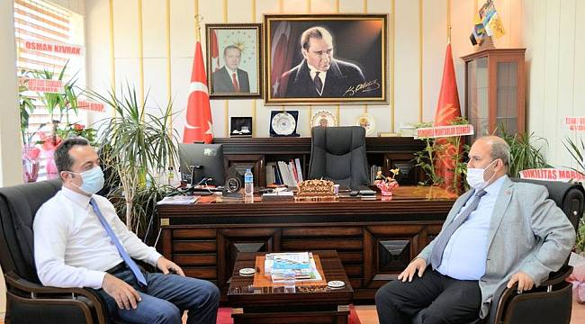 Vali Şentürk'den Osmaneli Kaymakamı Ünal'a Ziyaret