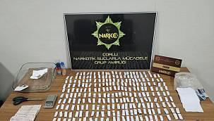 Çorlu'da Uyuşturucu Operasyonunda 1 Şüpheli Gözaltına Alındı